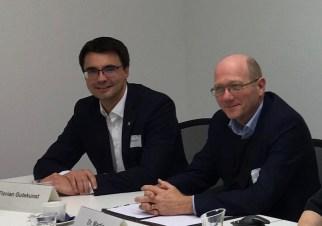 Florian Gutekunst und Dr. Martin Konermann stellen die Flexibilisierung im Verteilnetz vor