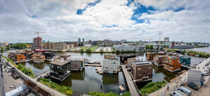 Selbstversorgung einer Wohnsiedlung in Amsterdam