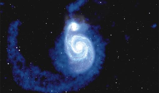 Galaxia em radio