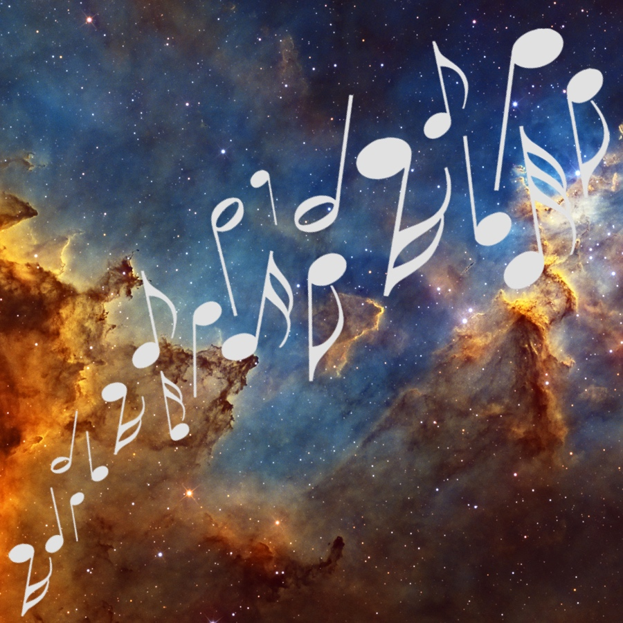 Music + Astronomy Project for Undergraduate Students