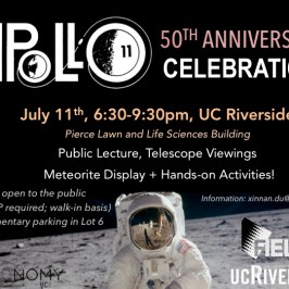 Moon Landing 50th Anniversary Celebration  — July 11, 2019