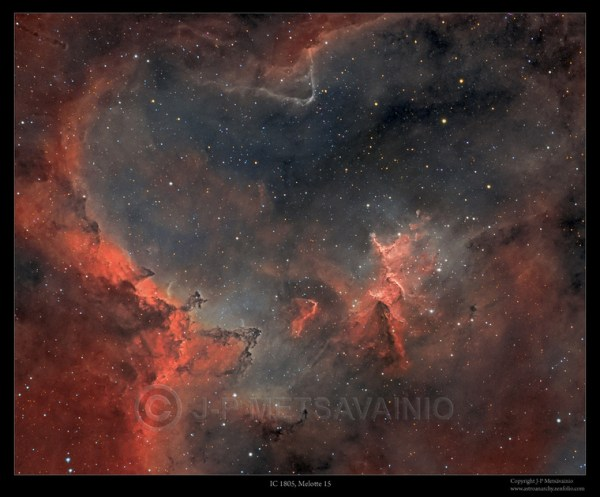 JP Metsavainio Narrowband Nebulae Natural Colors