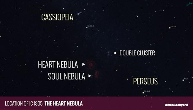 where is the Heart Nebula