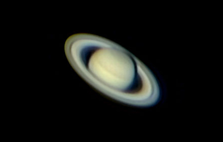 Saturn photo by Rochus Hess.