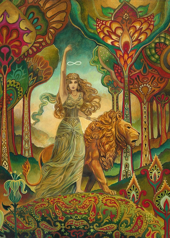 Leo Venus Emily Balivet Strength
