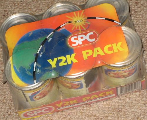 SPC Y2K sixpack of tinned tomatoes