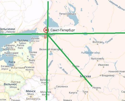 Карта местности, сокровища Юсуповых