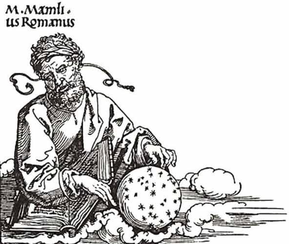Зодиакальные додекатемории, Марк Манилий астролог