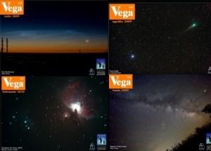 Coperți ale revistei Vega