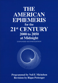 American Ephemeris for the 21st Century 2000-2050 at Midnight image