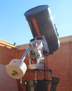 CEM60 in observatory Astrofarm