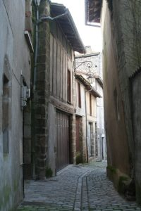 old street in Confolens