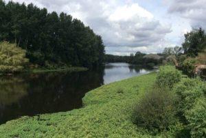 River in Confolens