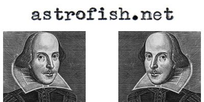 astrofish.net and Shakespeare