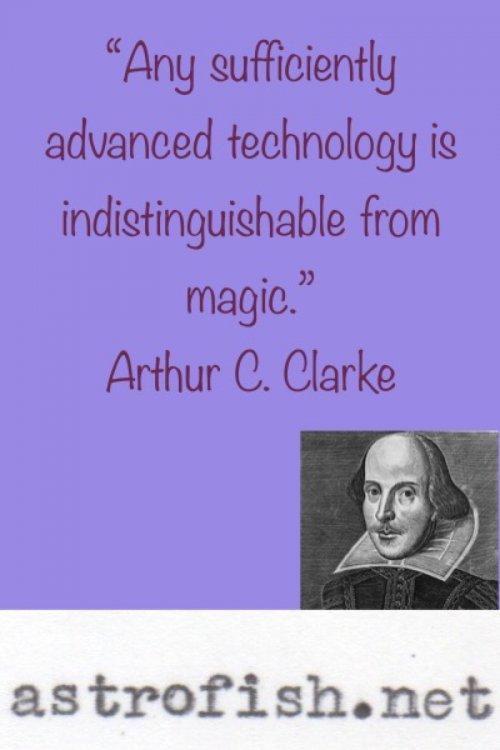 Clarke Quote