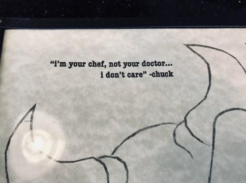 Chuck's Quote