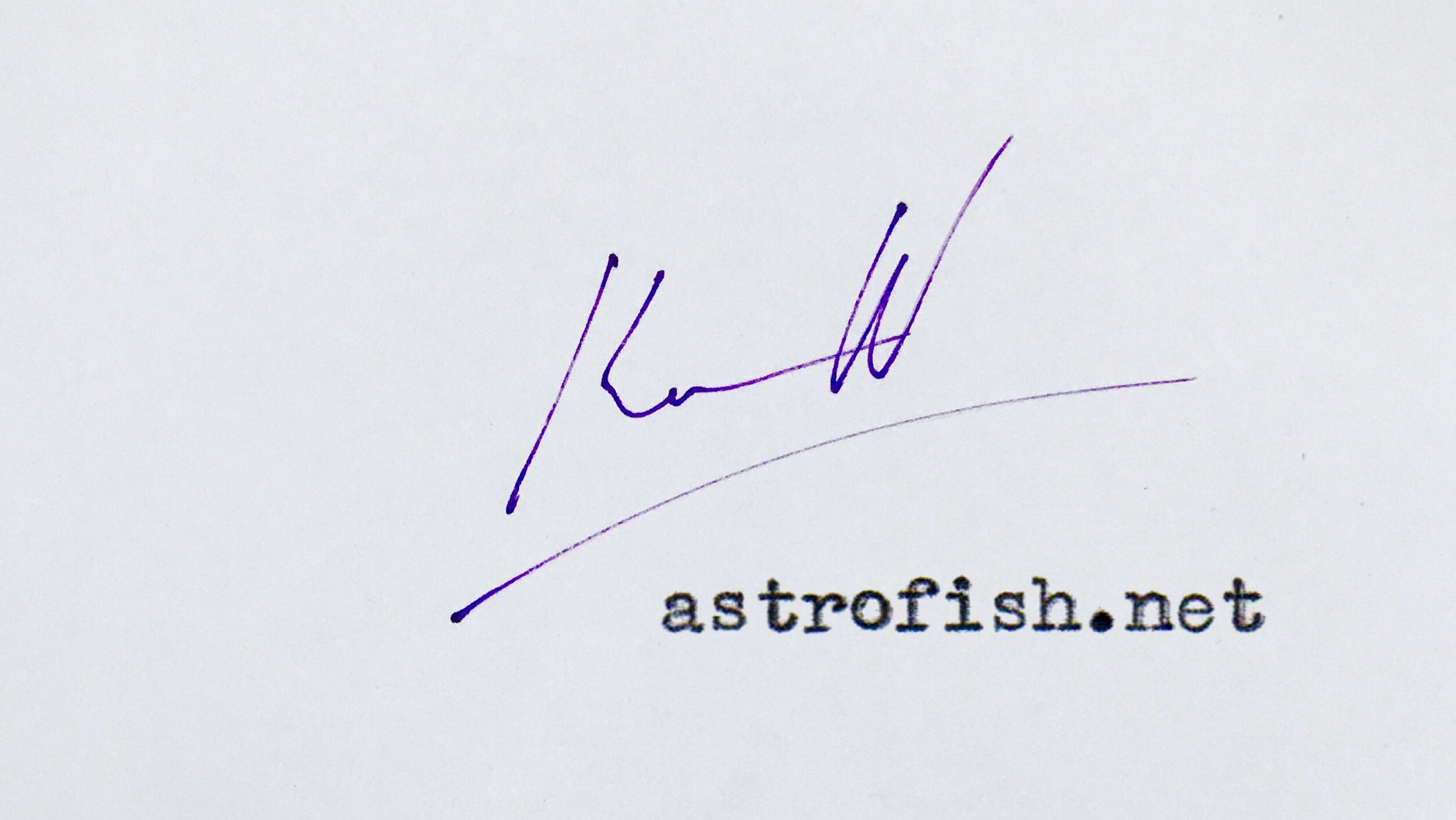 astrofish.net logo for Stripe