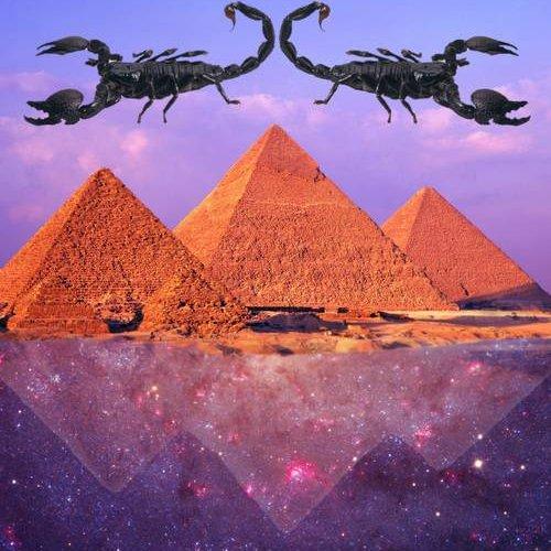 scorpio house astrology pyramids