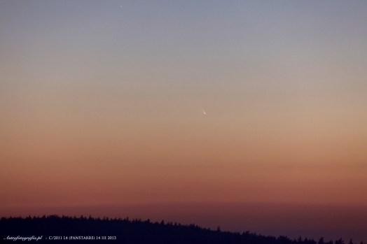 Kometa C/2011 L4 (PANSTARRS) 14 marca 2013