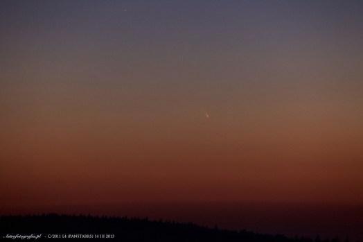 Kometa C/2011 L4 (PANSTARRS)- 14 marca 2013