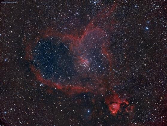 IC1805 - mgławica Serce