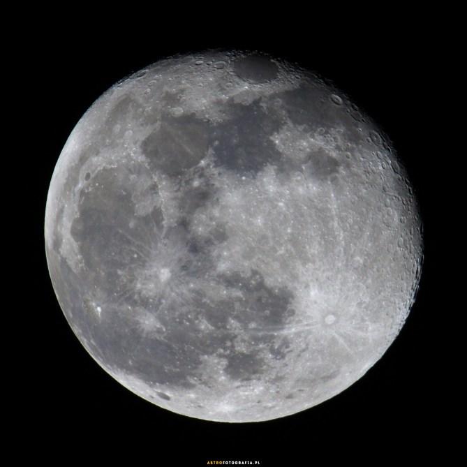 Ogniskowa 600mm f:8. Pojedyncze ujęcie crop 1:1 Nikon D7200