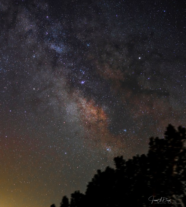 Vía Láctea julio 2017