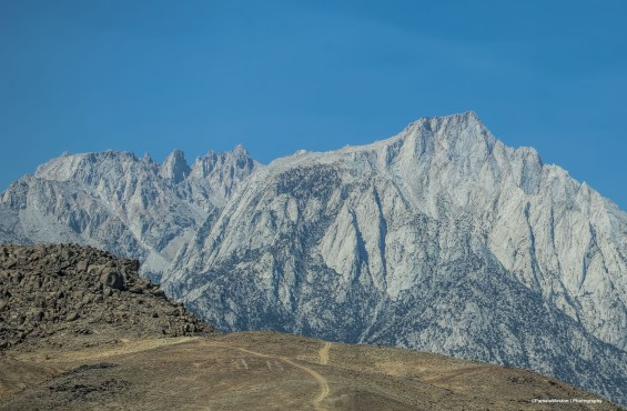 Mt Whitney in the morning
