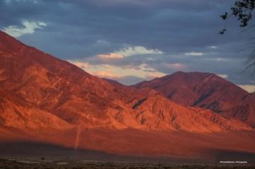 Pilot Mountains behind Mina, Nevada