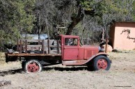 Dunn's 1928/9 Model A flatbed. Still Runs!
