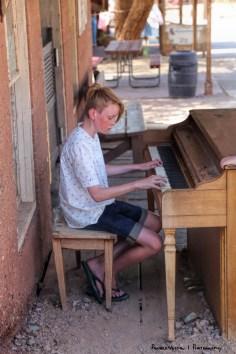 A budding musician