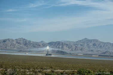 Ivanpah Thermal Solar plant just before the Nevada border...feels a wee bit science fictionish