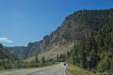 Highway 14 leads out of Cedar City ,into the Dixie National Forest towards Cedar Breaks