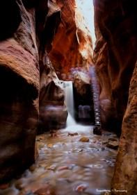 Kanarra slot canyon-long exposure A