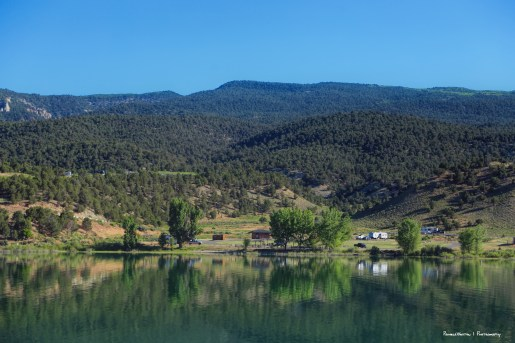 The View of the Rifle Gap Campground
