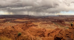 Thunderstorms over Dead Horse Point