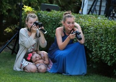 Budding photographers