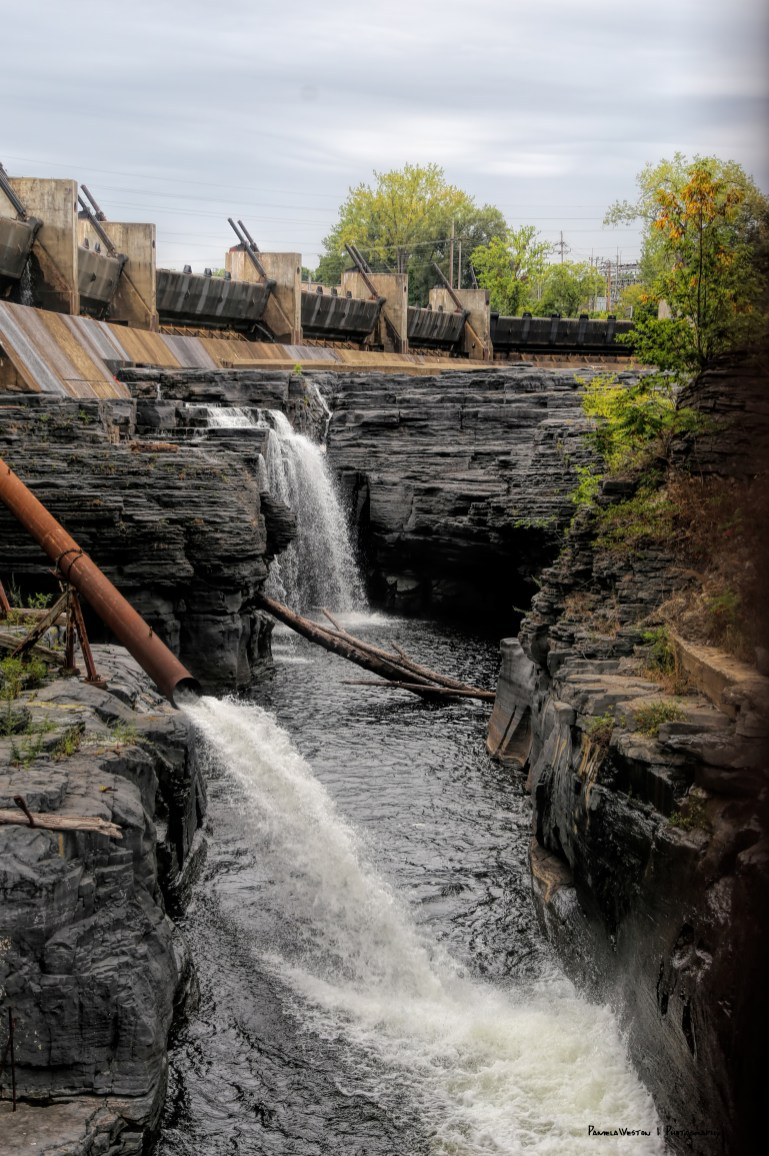 Downtown Glens Falls, some of Last of the Mohicans was filmed here at a legendary cave.