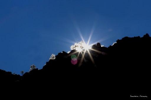 Sunrise in the Sierra