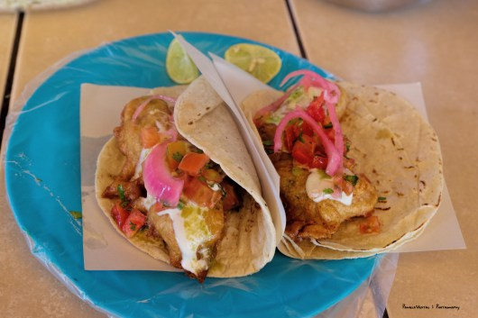 Fish Tacos at Lupitas in Maneadero