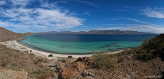 The view from the top of Punta Piedrosa