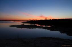Sunrise on Santa Rosa Lake