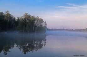 Fog on Otty Lake
