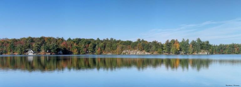 Last glimpses of Otty Lake