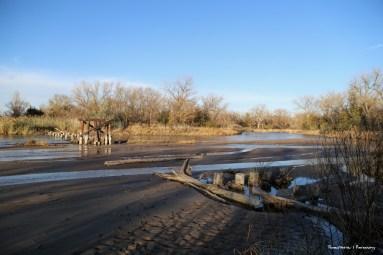 Old Bridge across the Platte River