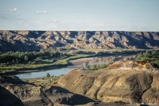 The Red Deer River-Alberta