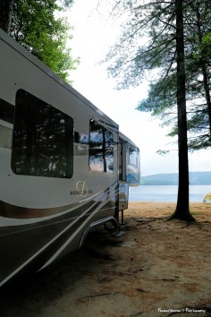 Pine Valley Campground on the Ottawa River