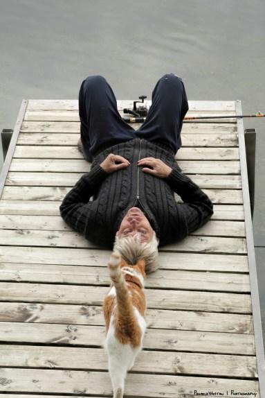 Groot loves his dock:)