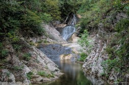 Lace Falls at the end of the trail