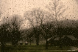 Raindrops keep falling on my head;)